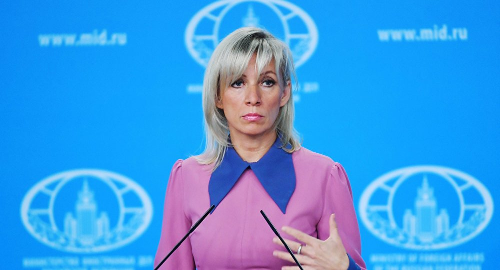 Photo of Zakharova: Terrorists in Idleb continue to prepare for committing provocations using toxic materials