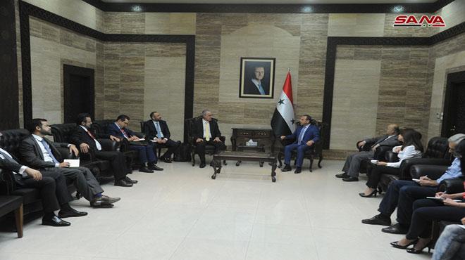 Photo of تعاون صحي بين سوريا والبرازيل