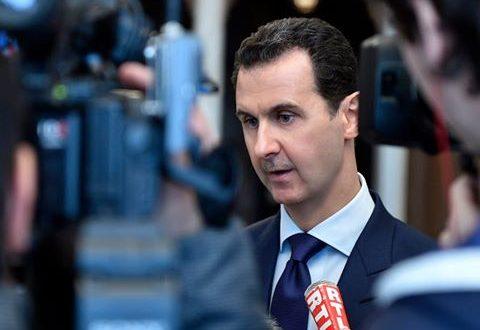 الرئيس الأسد يكشف تفاصيل الدور الأمريكي في سوريا