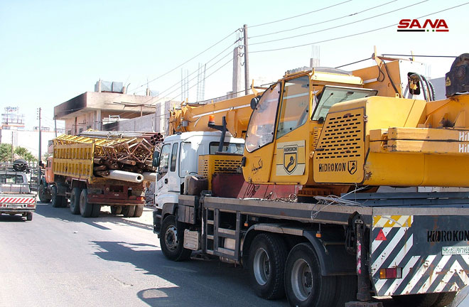 Photo of تأهيل شبكات كهرباء 43 بلدة بدرعا