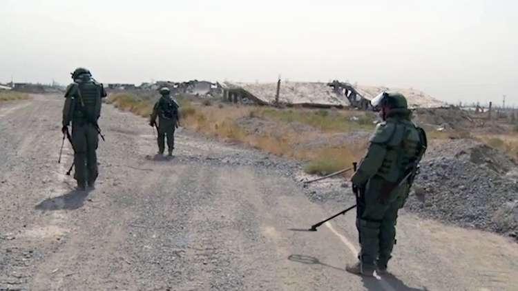 Photo of أوسمة رفيعة لمهندسين عسكريين روس لتنفيذهم مهام خاصة بسوريا