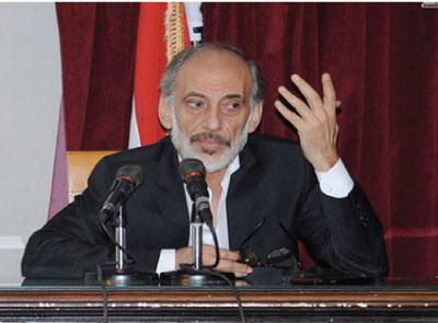 Photo of غسان مسعود مكرّماً في ندوة أماسي