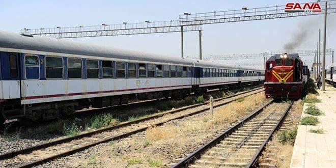 Photo of Al-Qadam railway station ready to transport visitors to Damascus International Fair