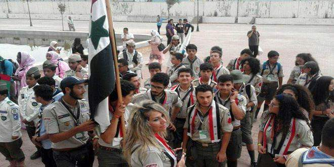 Photo of 32nd Arab Scouts Camp concludes activities in Algiers with participation of Syria