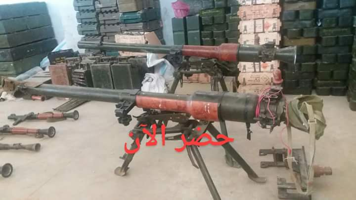 Photo of Authorities find weapons left behind by terrorists in Quneitra countryside, including US TOW missiles
