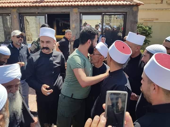 Photo of (فيديو – صور) وفد مشايخ عرب ال48 من فلسطين والجولان يزور الوطن ويزور ضريح اللواء الشهيد البطل عصام زهر الدين