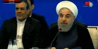 Photo of Rouhani: Only Syrian people can decide their country's future
