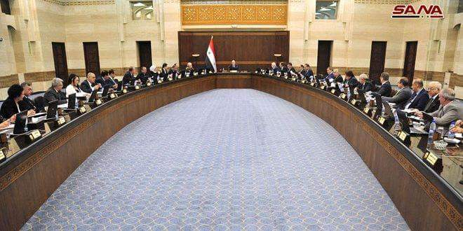 Photo of Cabinet calls for enhancing investment cooperation through Damascus International Fair