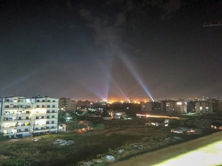 Photo of الدفاعات الجوية السوري تتصدى لعدوان بالصواريخ على مدينة اللاذقية