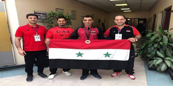 Photo of Syria wins bronze medal at Bench Press Championship held in UAE