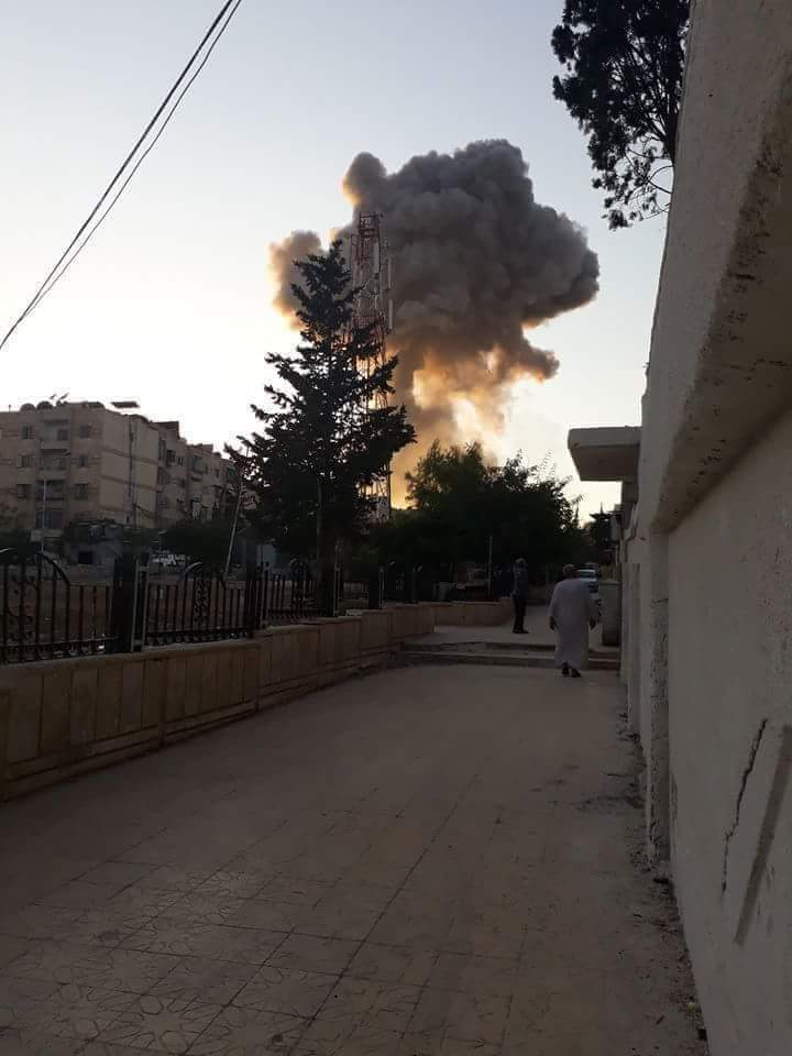 Photo of Terrorist rocket attack on Aleppo causes material damage