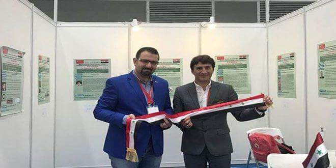 Photo of Syrian inventors win 15 medals at int'l exhibition in China