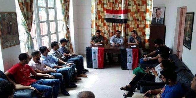 Photo of Syrian students in Cuba vow support to homeland against terrorism