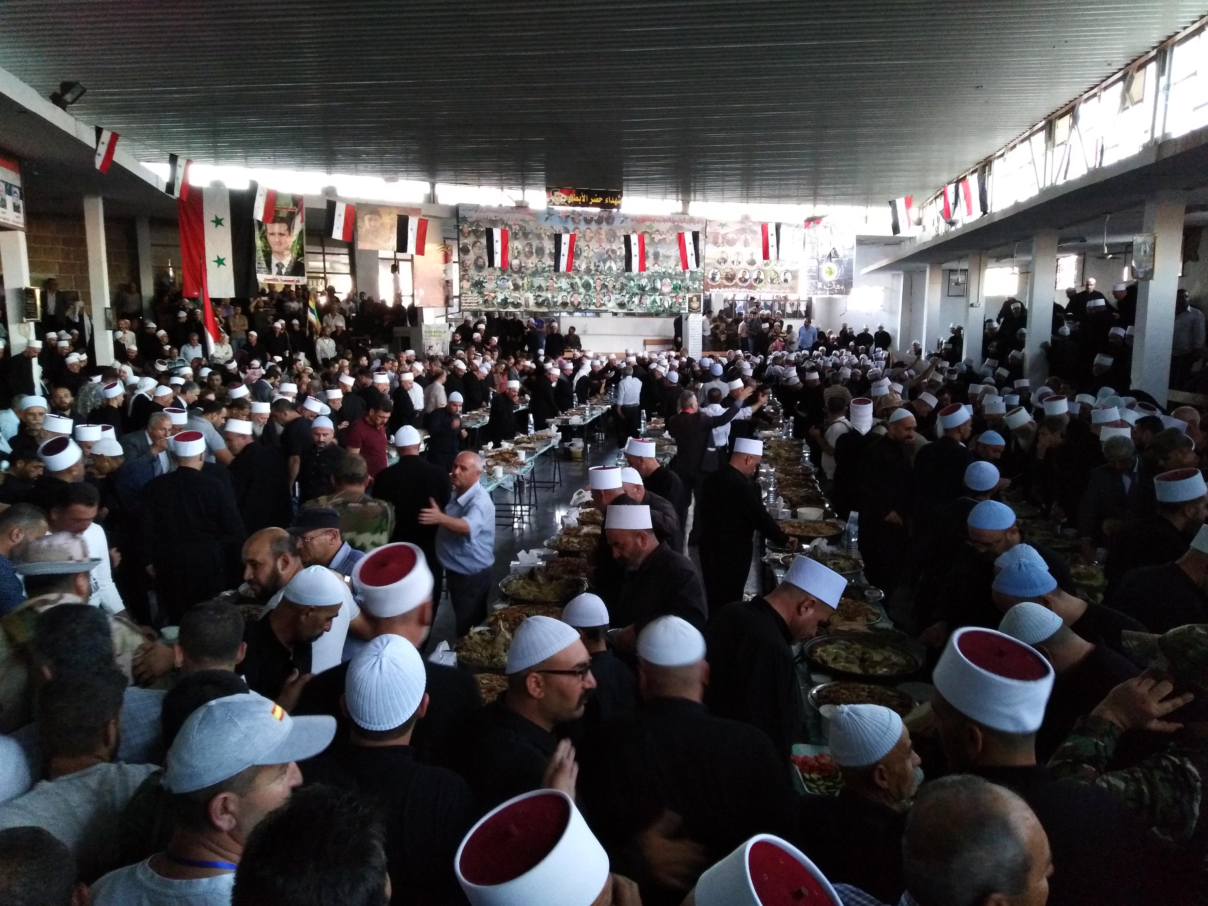 Photo of بالصور- مشايخ فلسطين بضيافة أهالي حضر