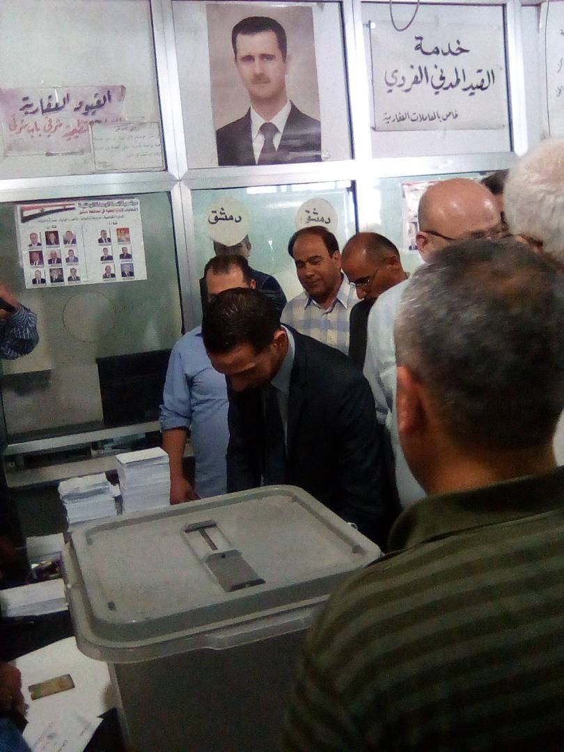 Photo of Syrians choose their representatives at Local Administration Councils