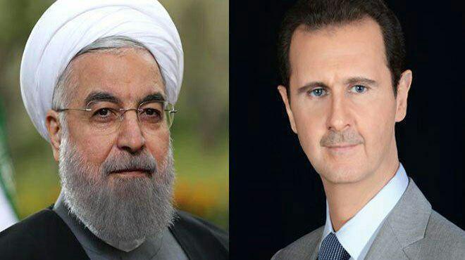 Photo of الرئيس الأسد يبرق معزياً الرئيس روحاني بضحايا الهجوم الإرهابي الجبان في الأهواز