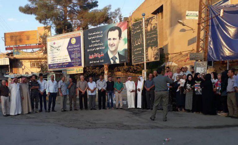"""Photo of احتجاجات في القامشلي ضد ميليشيات """"الأسايش"""" ولافتات تحيّي الجيش السوري"""
