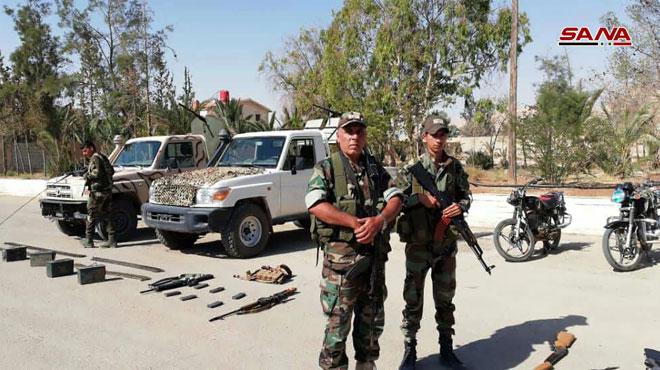 "Photo of القبض على 7 ""دواعش"" بريف تدمر"