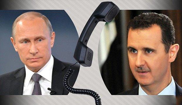 Photo of بوتين في اتصال هاتفي بالاسد: روسيا ستزود سوريا منظومة اس 300
