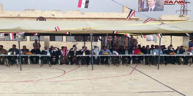 Photo of استكمالا للمصالحات.. خيمة وطن في قرية ممتنة بريف القنيطرة