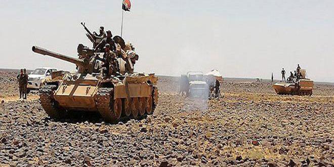 Photo of مقتل وجرح عدد من إرهابيي داعش بمعارك الجيش بتلول الصفا
