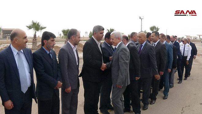Photo of وفد أردني يصل سورية عبر معبر نصيب