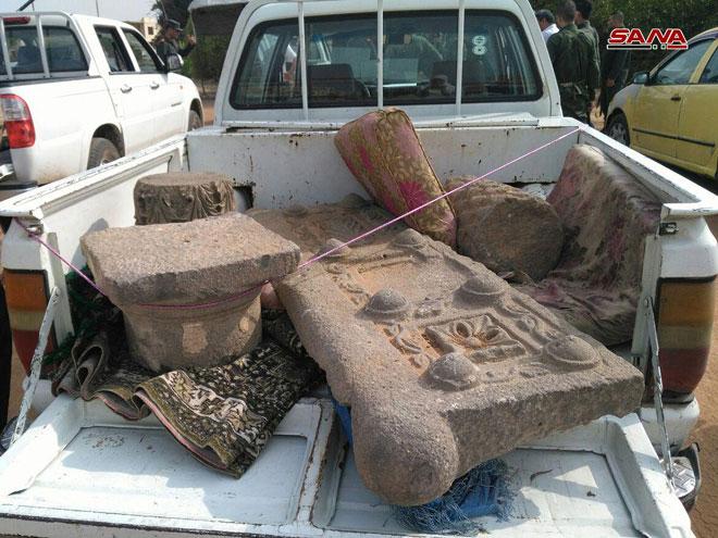Photo of إحباط محاولة تهريب 14 قطعة أثرية من منطقة الطبريات باتجاه الأراضي الأردنية