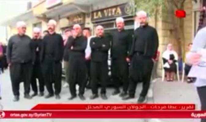 Photo of تقرير التلفزيون السوري- مشايخ الجولان يؤكدون رفضهم للانتخابات الاسرائيلية