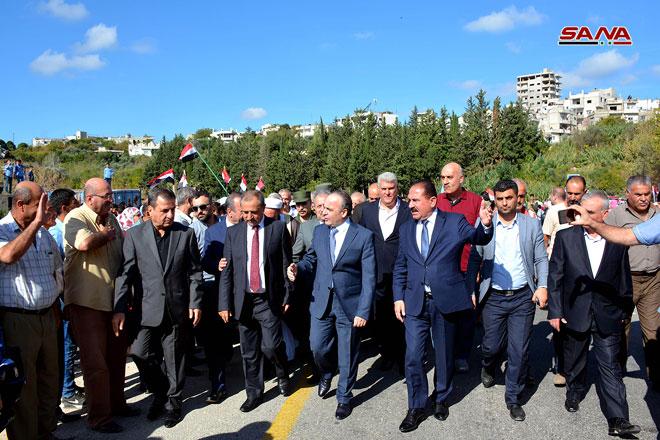 Photo of بتوجيه من الرئيس الأسد..  افتتاح عدد من المشاريع الخدمية في اللاذقية بتكلفة تتجاوز 11 مليار ليرة