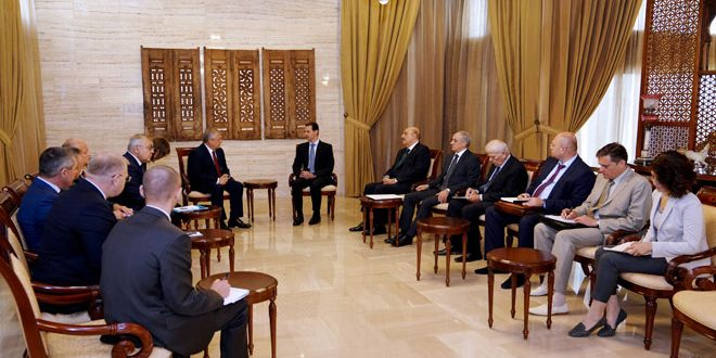 Photo of الأسد: عودة السوريين من أولويات عمل الحكومة
