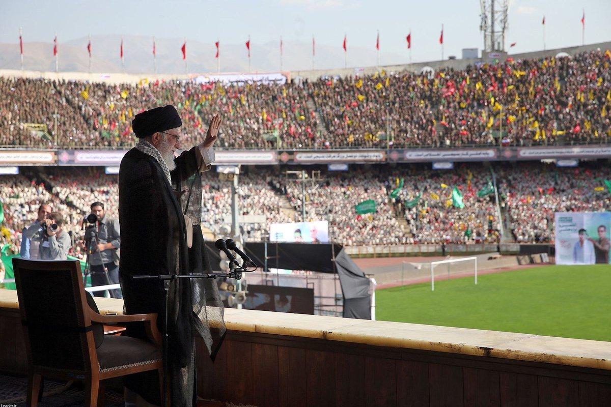 Photo of خامنئي: أميركا ستتلقى صفعة أخرى من الشعب الايراني