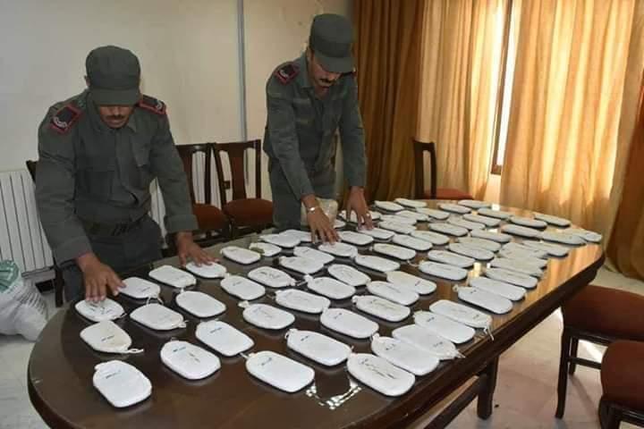 Photo of Drug dealer arrested, 14,5 kg of Hashish and 9,000 Captagon tablets seized in Hama