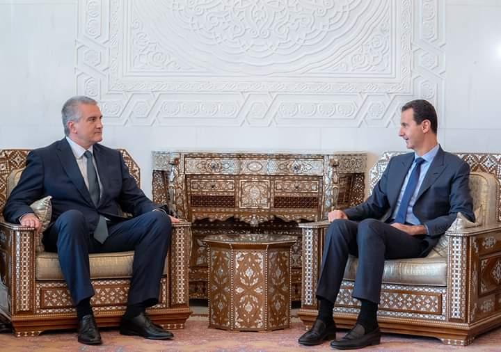 Photo of الأسد يستقبل سيرغي أكسيونوف رئيس جمهورية القرم الروسية