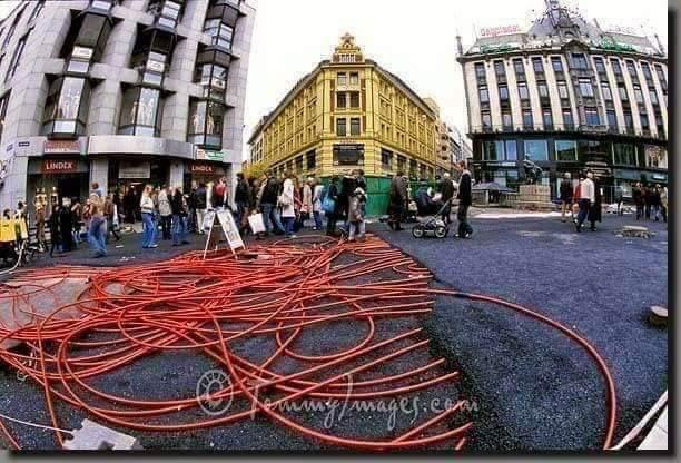 Photo of بالصور- ايسلندا تباشر بمشروع شبكة تدفئة للشوارع