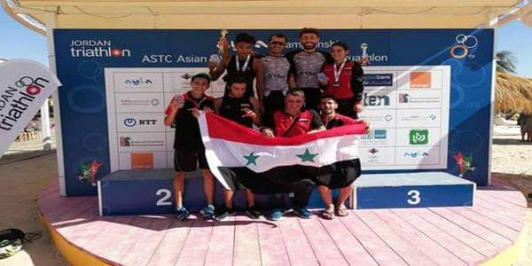 Photo of Syria wins 8 medals in 2018 Aqaba ASTC Sprint Triathlon Asian Cup and West Asian Championships