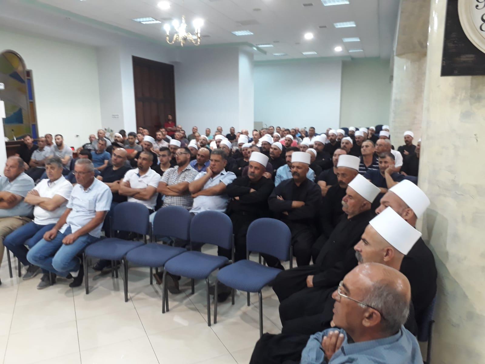 Photo of أهالي الجولان يجددون رفضهم انتخابات المجالس المحلية التي تعتزم دولة الاحتلال إجراءها في الجولان السوري المحتل