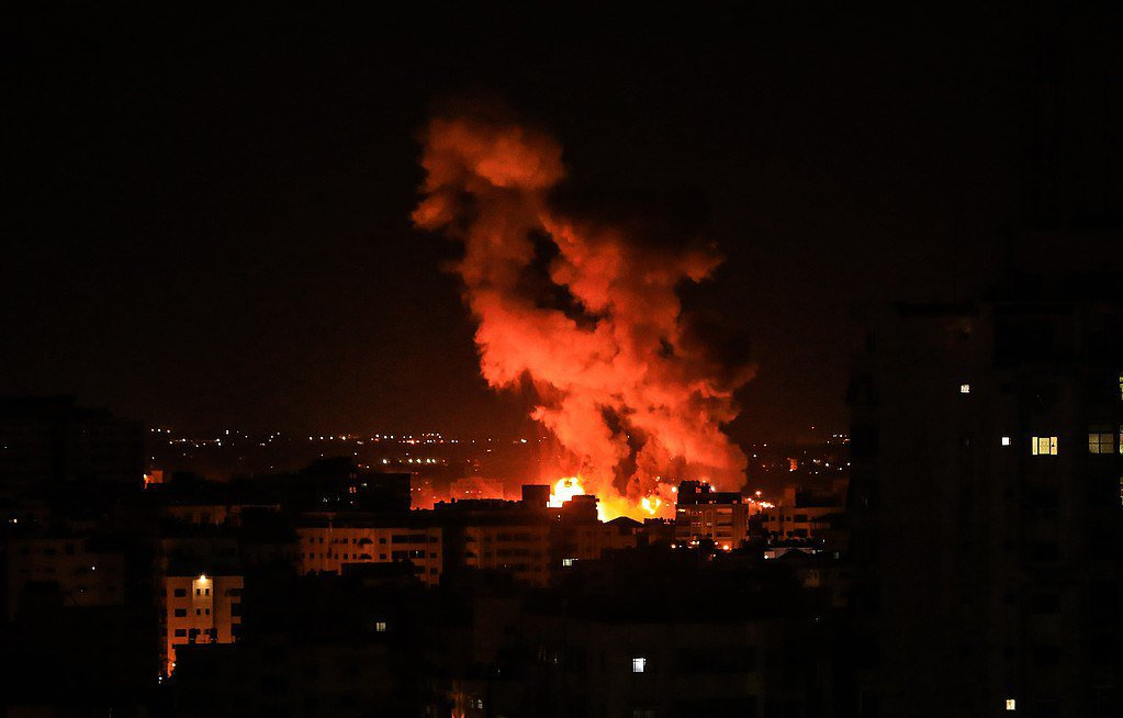 "Photo of قصف إسرائيلي على ""قطاع غزة"""