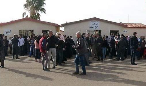 Photo of A new batch of displaced Syrians return from refugee camps in Jordan via Nassib border crossing