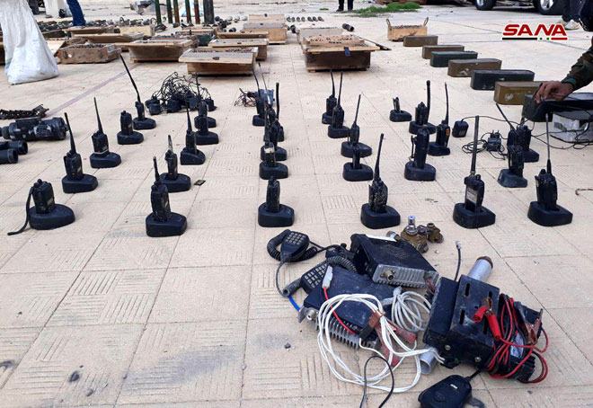 Photo of العثور على أسلحة وذخائر في حي برزة بدمشق