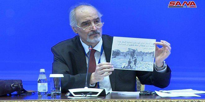 """Photo of الجعفري لـ اردوغان: إذا لم تنفذ اتفاق """"أستانا"""" بالسياسة فإنك ستنفذه بأساليب أخرى."""