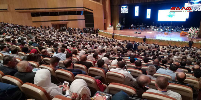 Photo of 19th International Scientific Conference of the Syrian Dental Association kicks off in Damascus