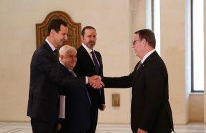 Photo of الأسد يتقبل أوراق اعتماد سفيري الصين وكوبا لدى سورية