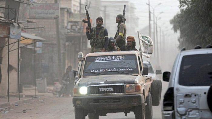 """Photo of اشتباكات وقتلى بين إرهابيي """"جيش الإسلام"""" و""""أحرار الشرقية"""" في عفرين"""