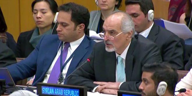 """Photo of الجعفري: مشروع السعودية يترجم حالة العداء المتأصل لدى """" آل سعود"""" تجاه سورية"""