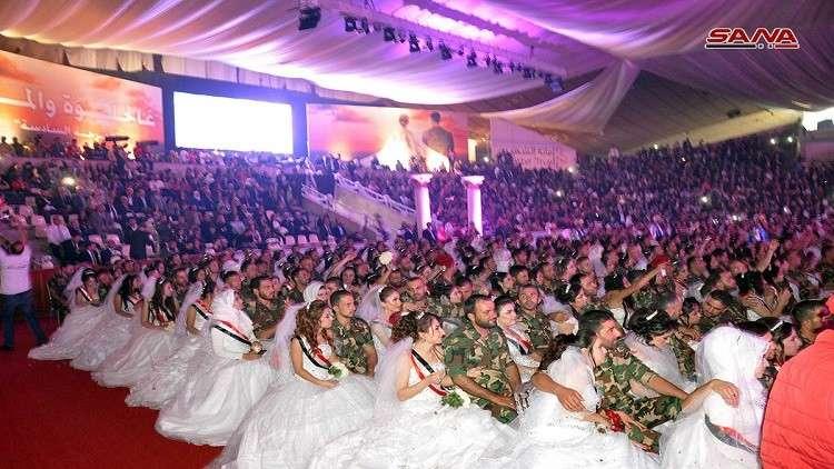 Photo of أكبر عرس جماعي في اللاذقية