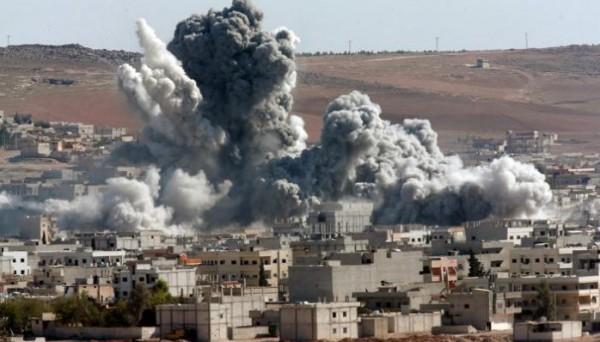 "Photo of 41 شهيداً نتيجة قصف ""التحالف"" وألغام ""داعش "" بريف دير الزور"