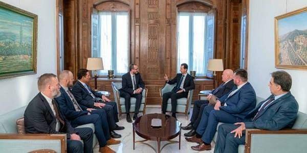Photo of President al-Assad: One of the biggest mistakes made by many European countries is separation from reality