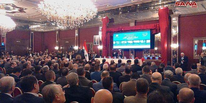 Photo of 3rd Industrial Conference kicks off in Aleppo
