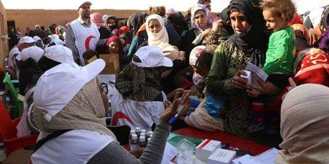 Photo of SARC carries out vaccination campaign for children in al-Rakban camp