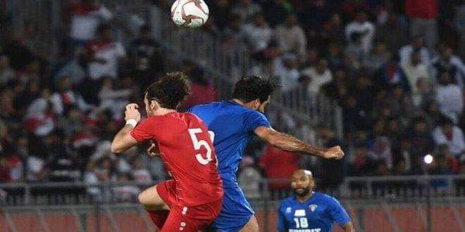 Photo of Syrian national football team beats Kuwaiti counterpart 2-1 in a friendly match
